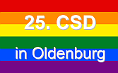 25. CSD in Oldenburg